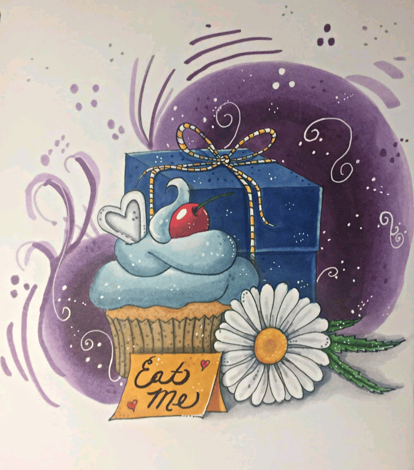 Cupcake for Alice - image 1 - student project