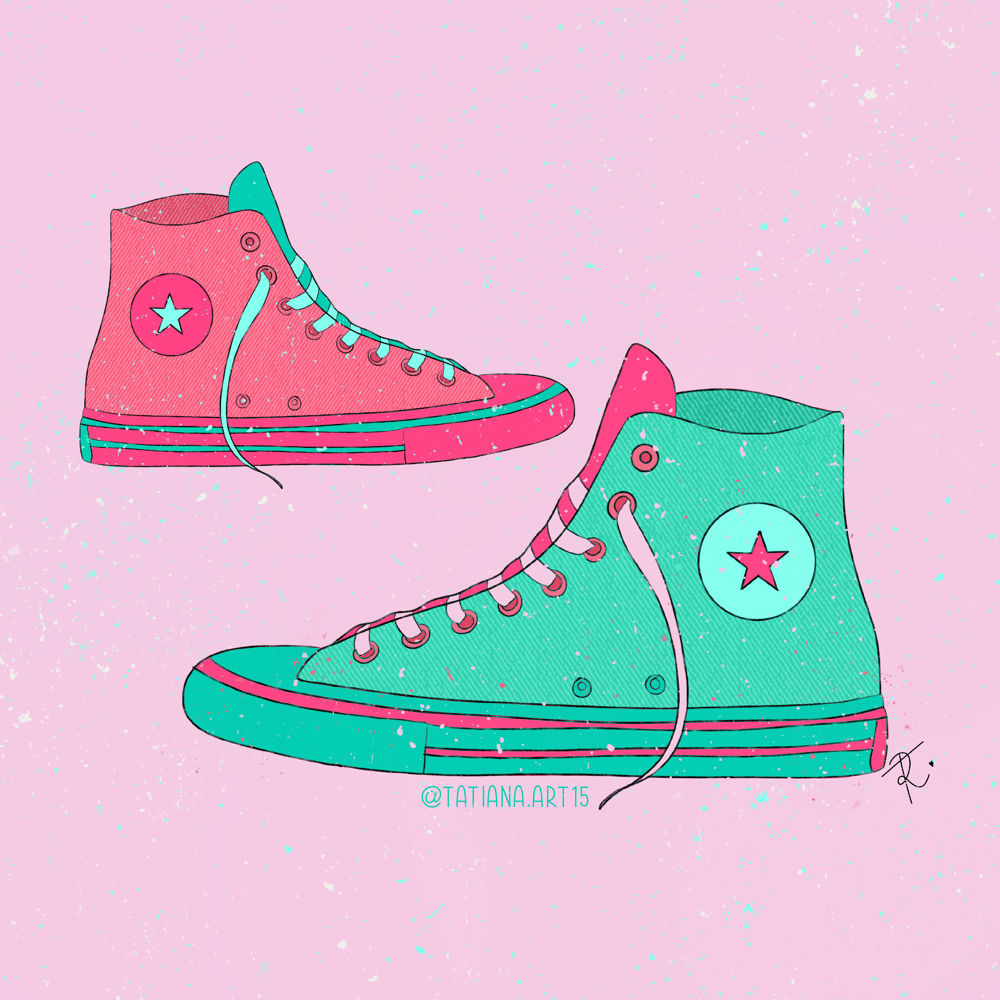 Converse limited palette - image 1 - student project