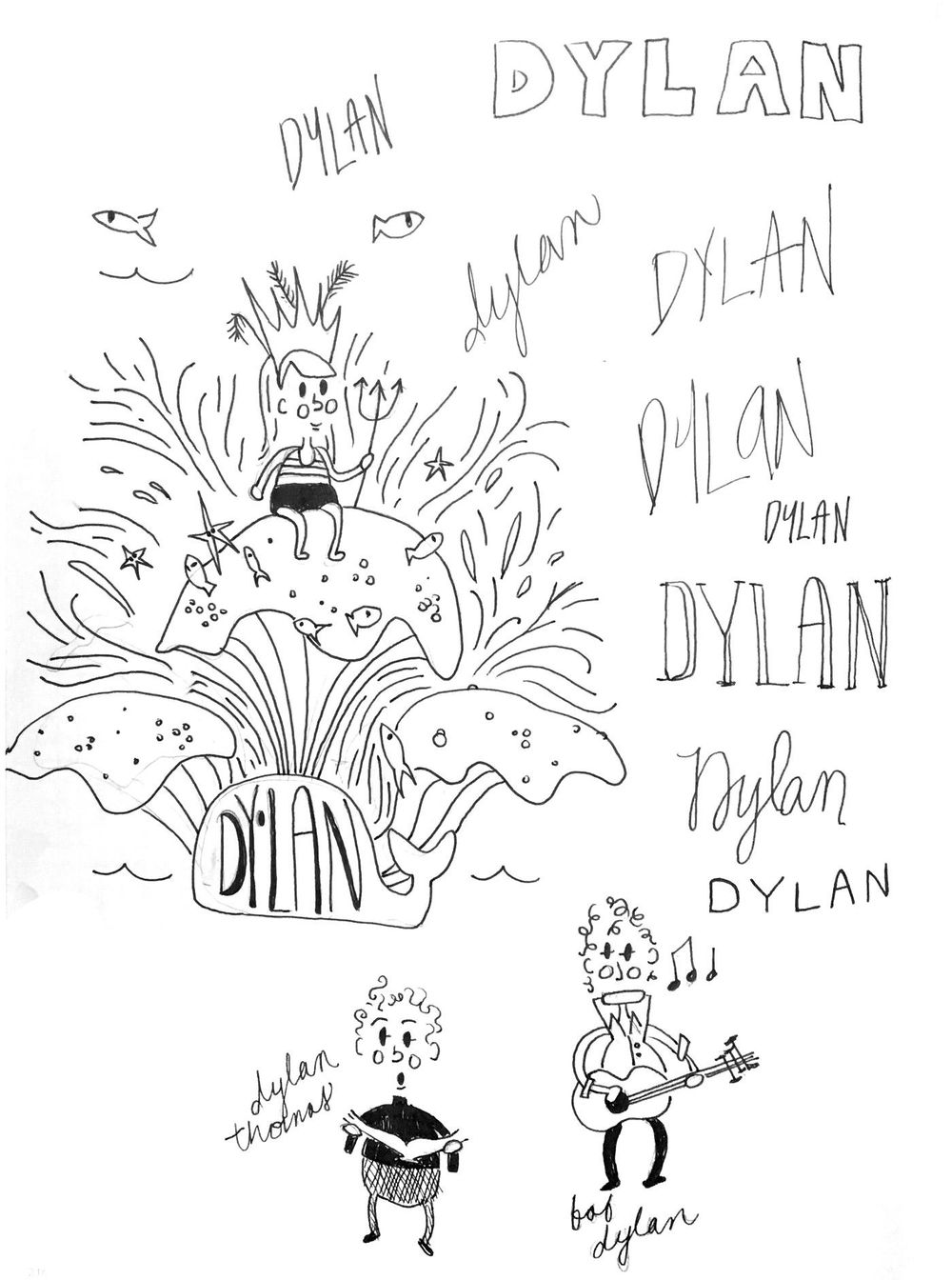 Dylan: God of the Sea! - image 2 - student project