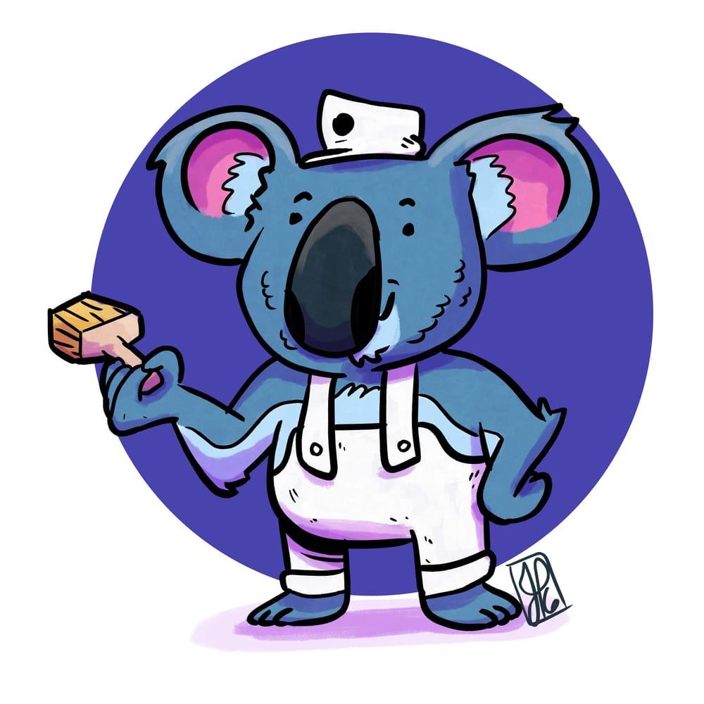 Koala Painting Express - image 3 - student project