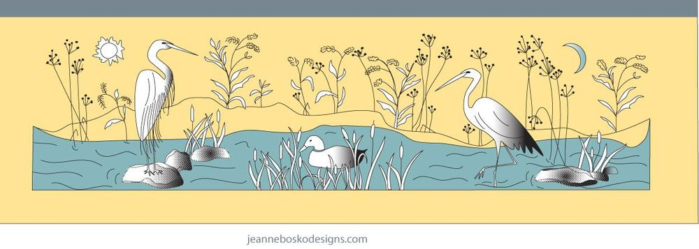 Egrets in the Wetlands - image 1 - student project