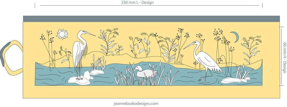 Egrets in the Wetlands - image 3 - student project