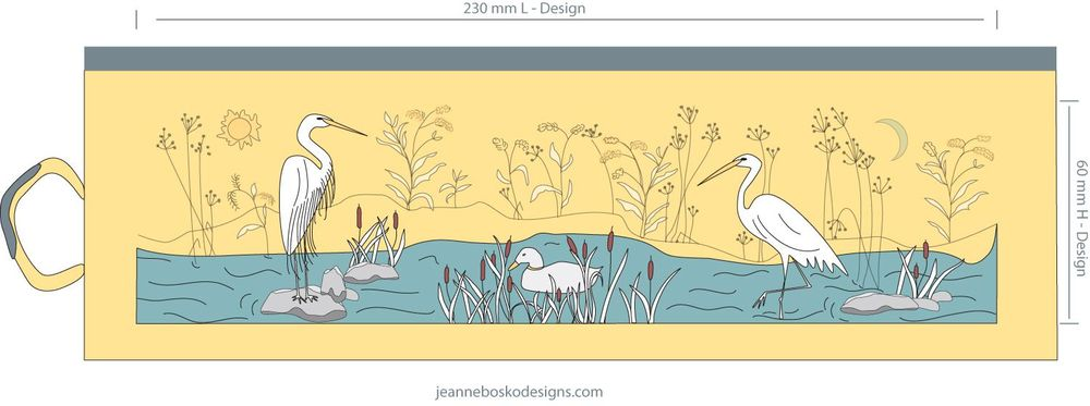 Egrets in the Wetlands - image 4 - student project