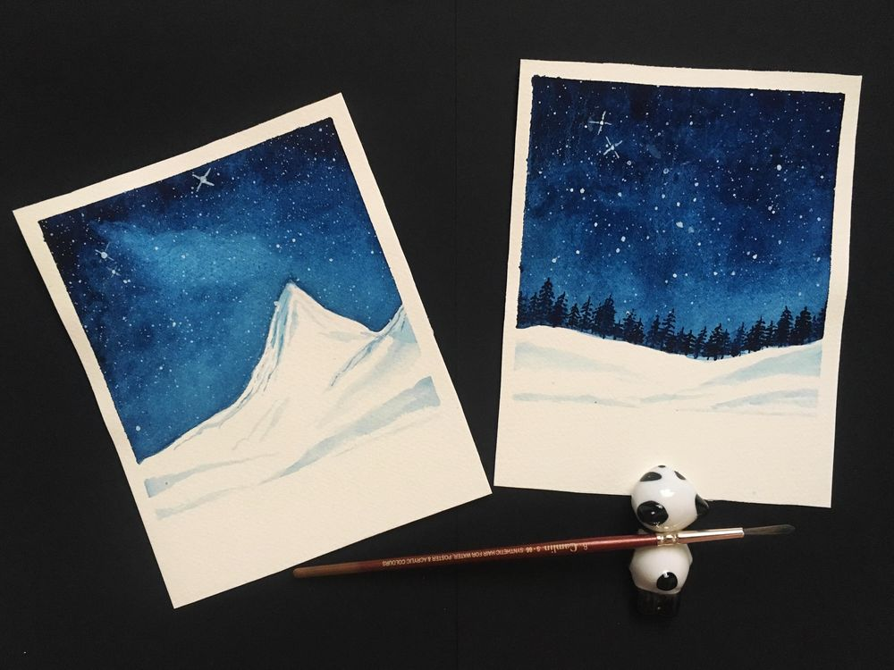 Oh starry night! - image 1 - student project