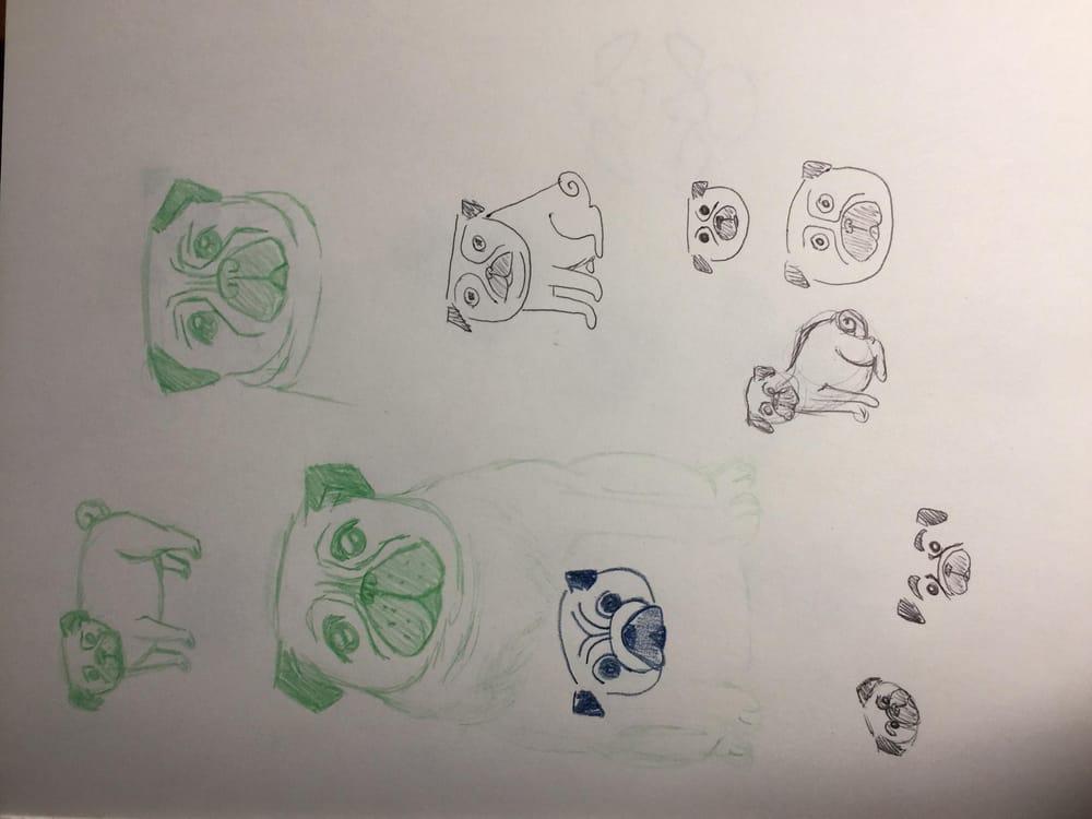 Stylized Pugs - image 2 - student project