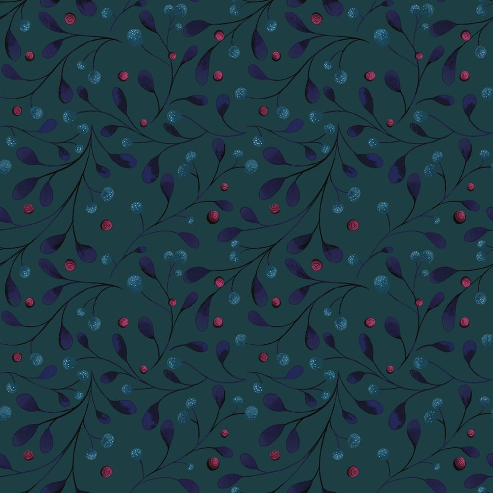 Christmas inspired pattern - image 3 - student project
