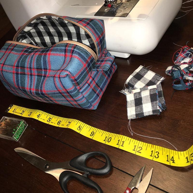 Designing & Constructing a Handbag - image 9 - student project