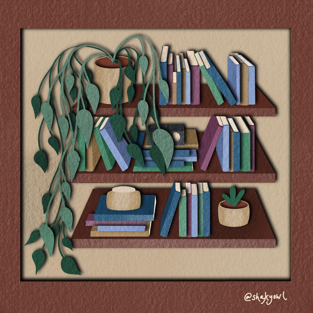 Bookshelf Perspective Practice - image 1 - student project
