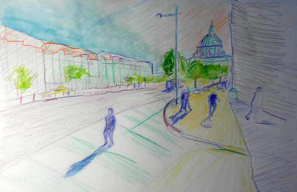 quick sketch of Prague - image 1 - student project