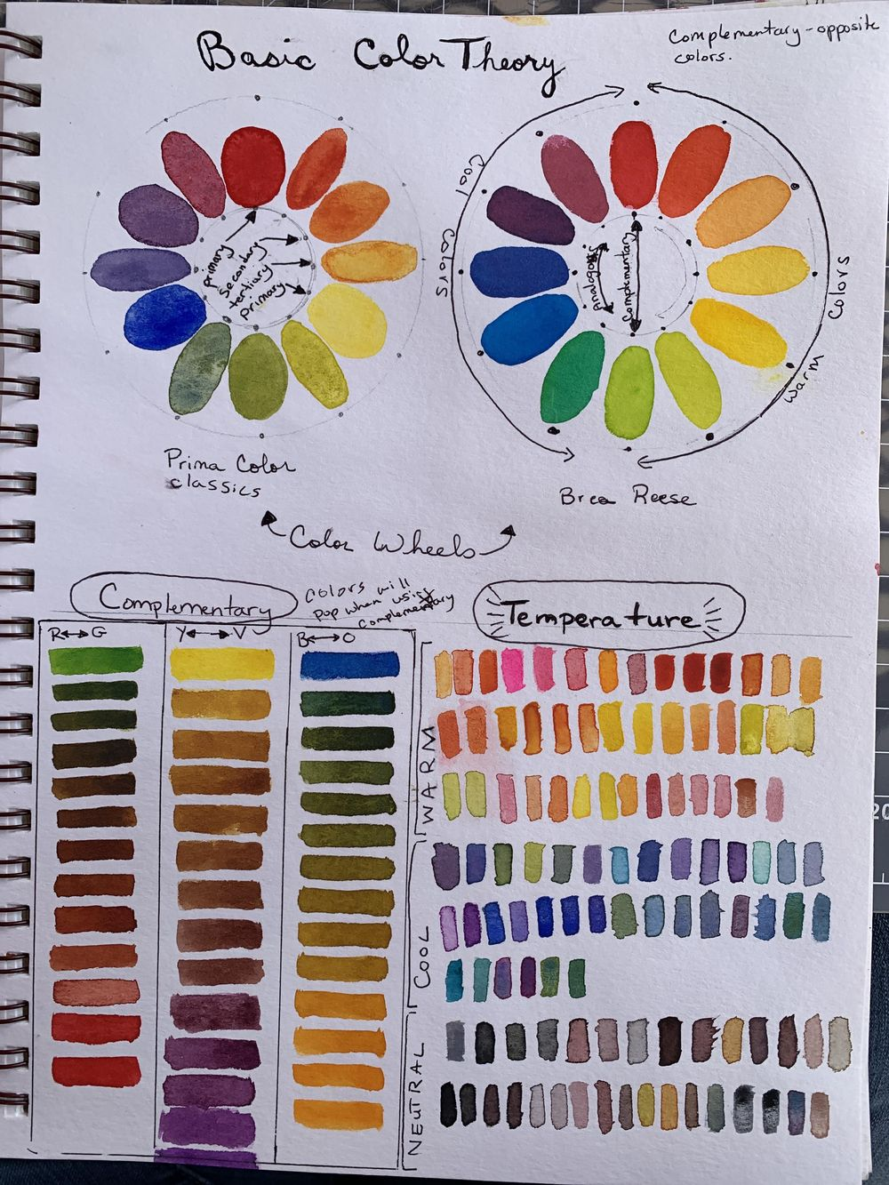 Color- mixing and finding your color identity - image 4 - student project