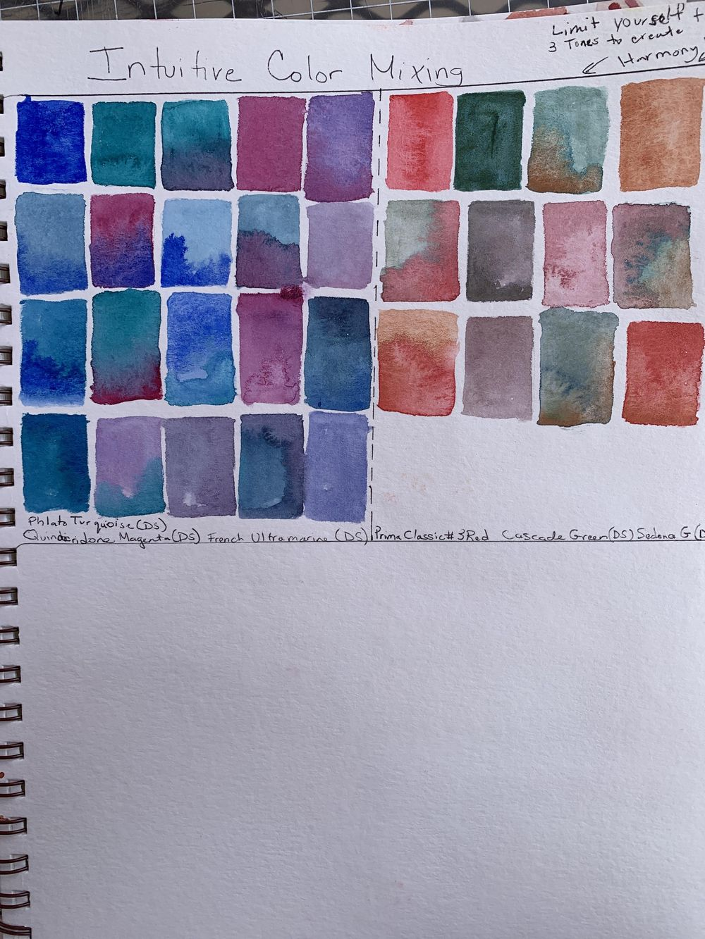 Color- mixing and finding your color identity - image 2 - student project