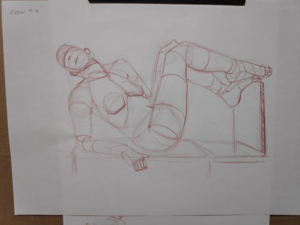 Figure construction - image 65 - student project