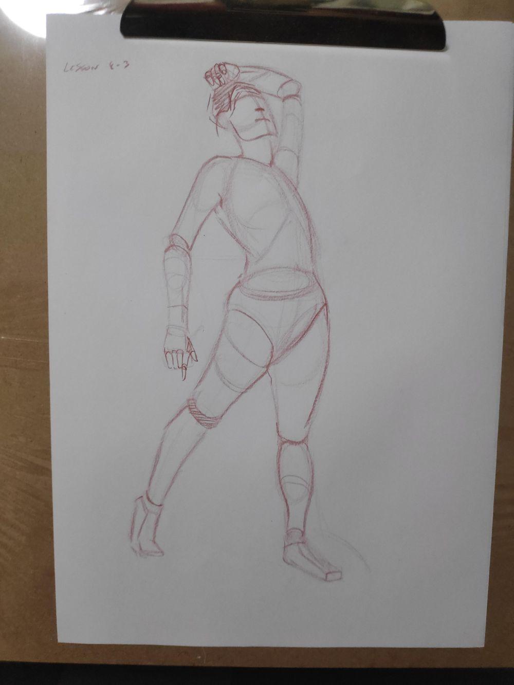 Figure construction - image 64 - student project