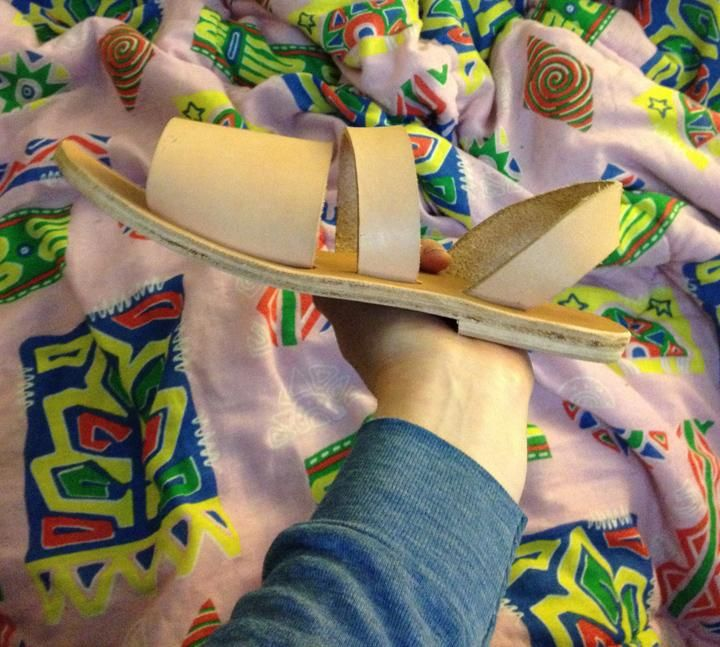 my first sandals - image 3 - student project