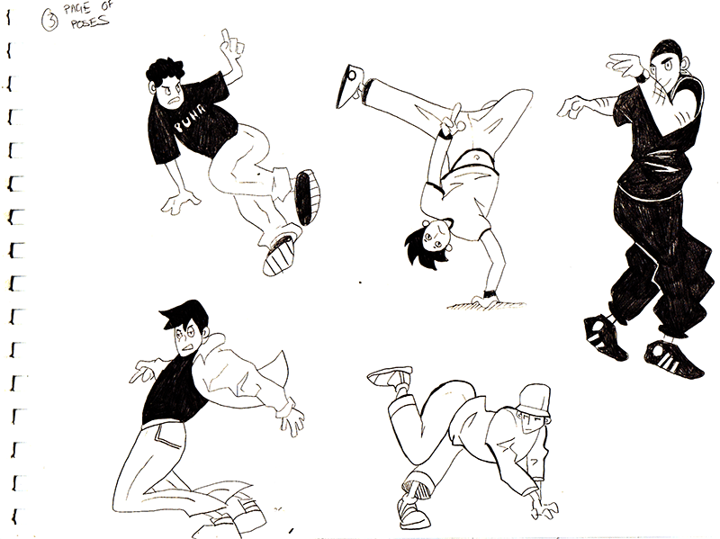 Odd Bodies Workout - image 3 - student project