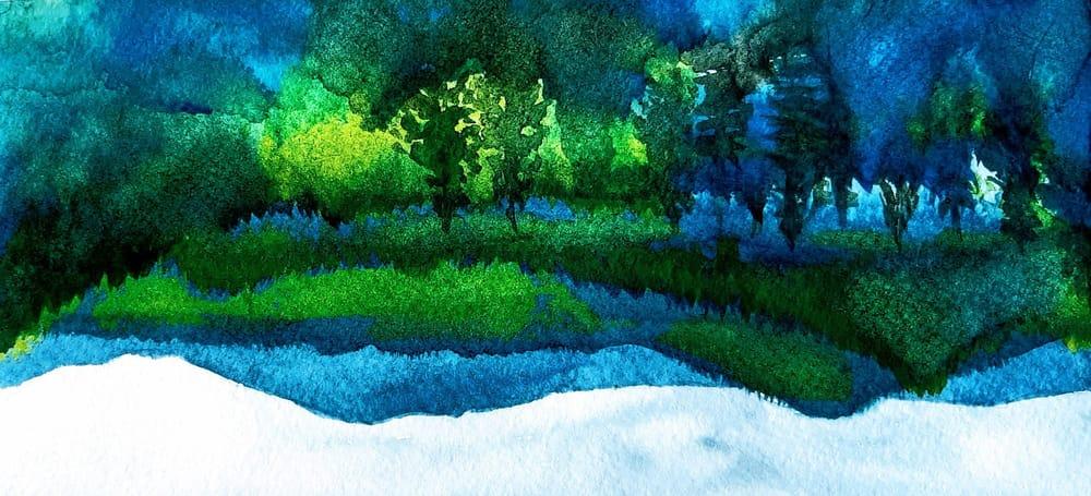 Mountain landscape - image 2 - student project