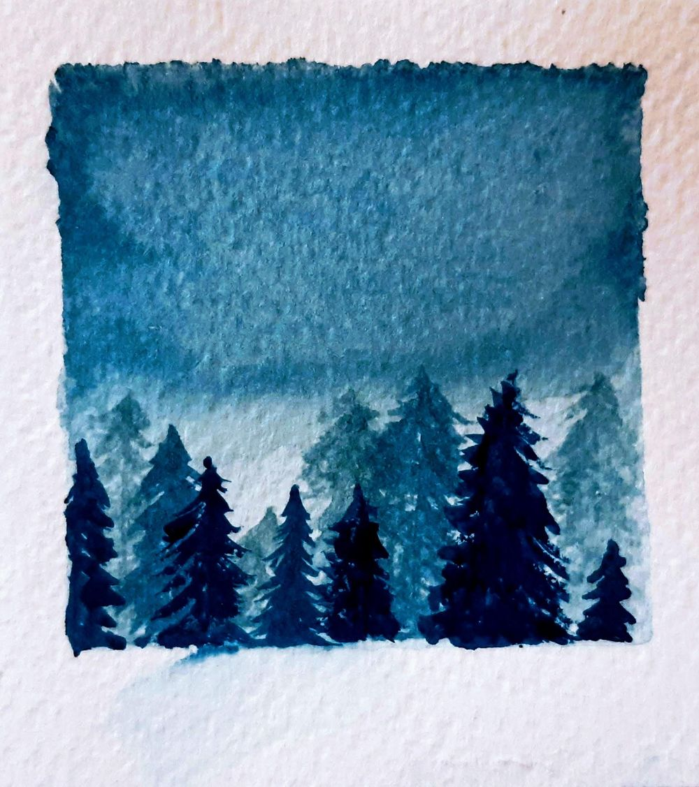 Winter forests - image 1 - student project