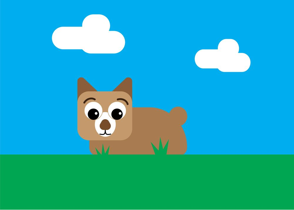 Exercise 1 - Dog - image 1 - student project