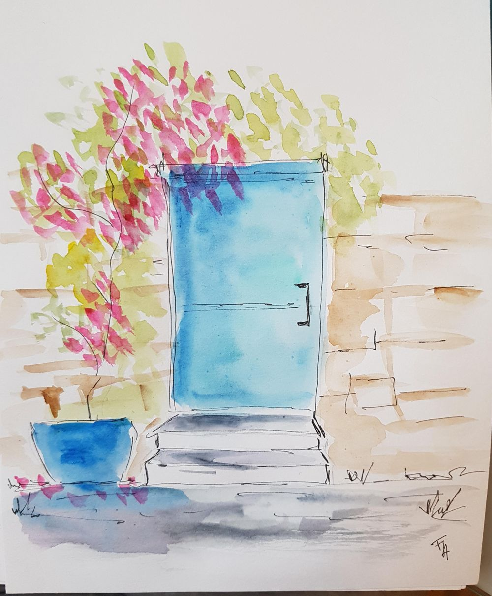 sketching door - image 1 - student project