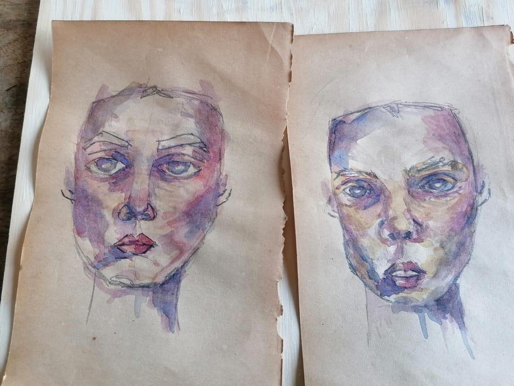 Mini Portraits colors - image 1 - student project
