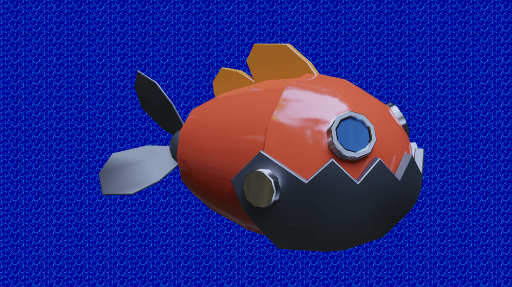 Fish render - image 1 - student project