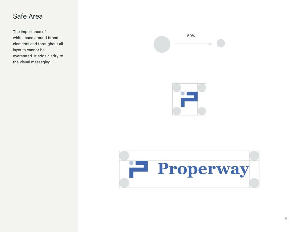 Properway brand styleguide - image 6 - student project