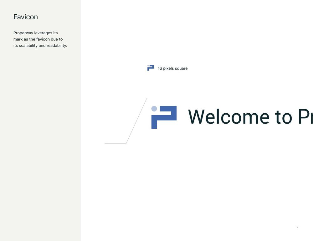Properway brand styleguide - image 7 - student project