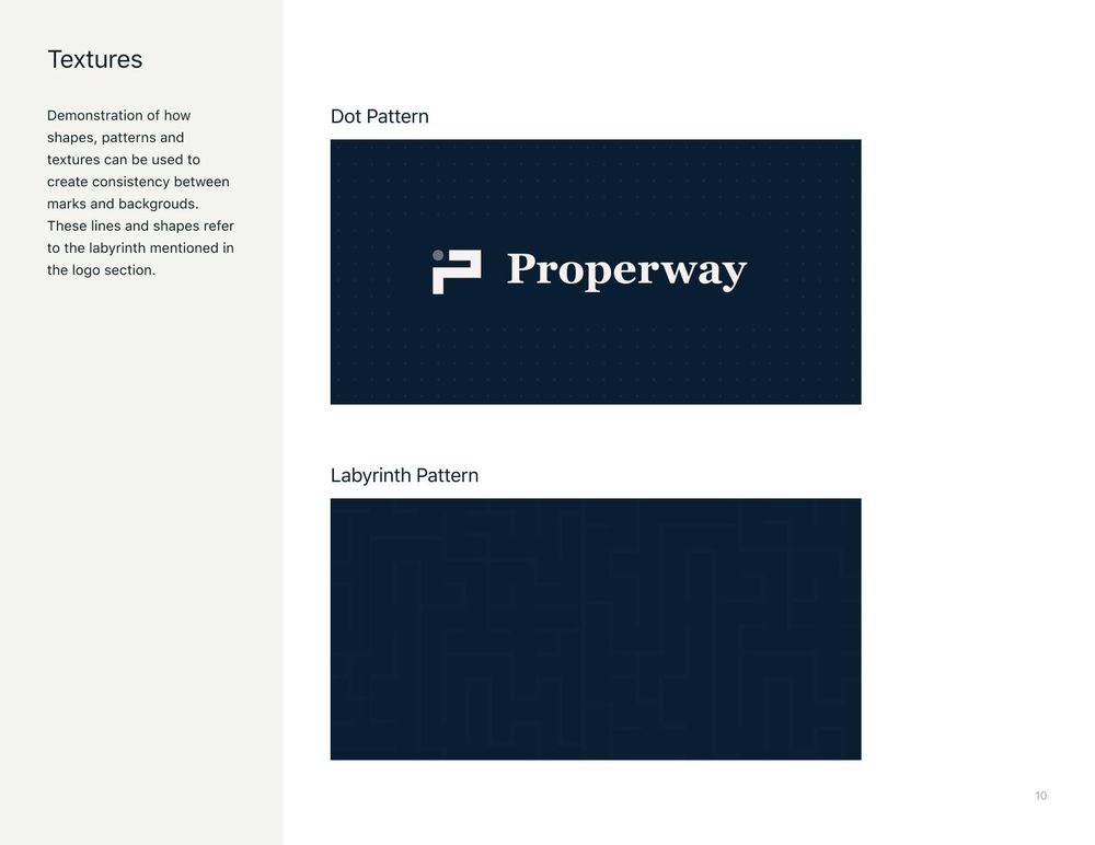 Properway brand styleguide - image 10 - student project