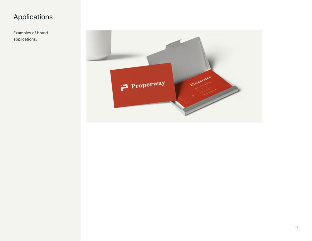 Properway brand styleguide - image 11 - student project