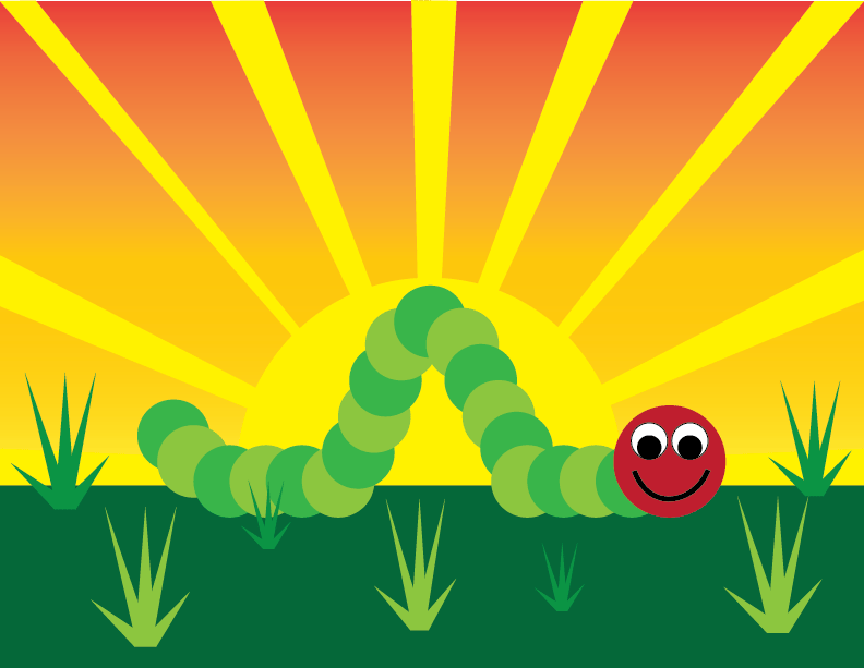 The Very Happy Caterpillar and more - image 7 - student project