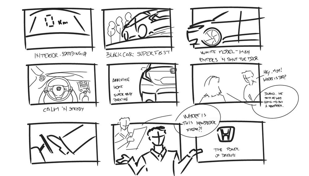Car Ad - image 1 - student project