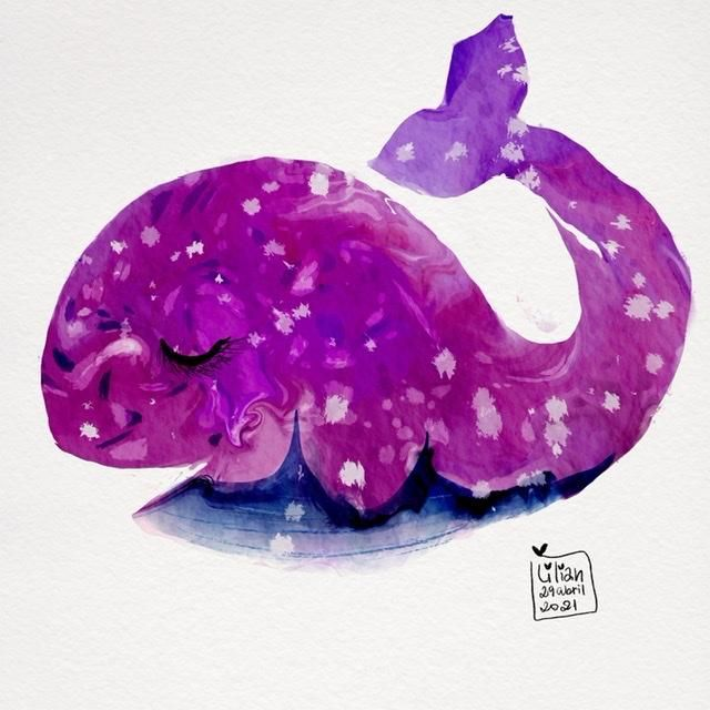Pink Whale - image 1 - student project