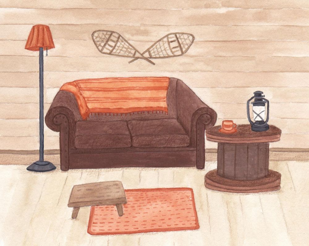 Rooms in Gouache - image 1 - student project
