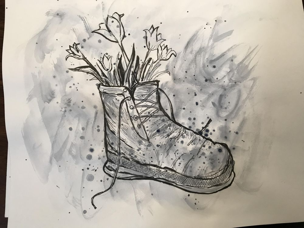 Pen and ink - image 2 - student project