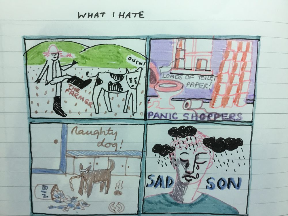Visual diary - image 2 - student project