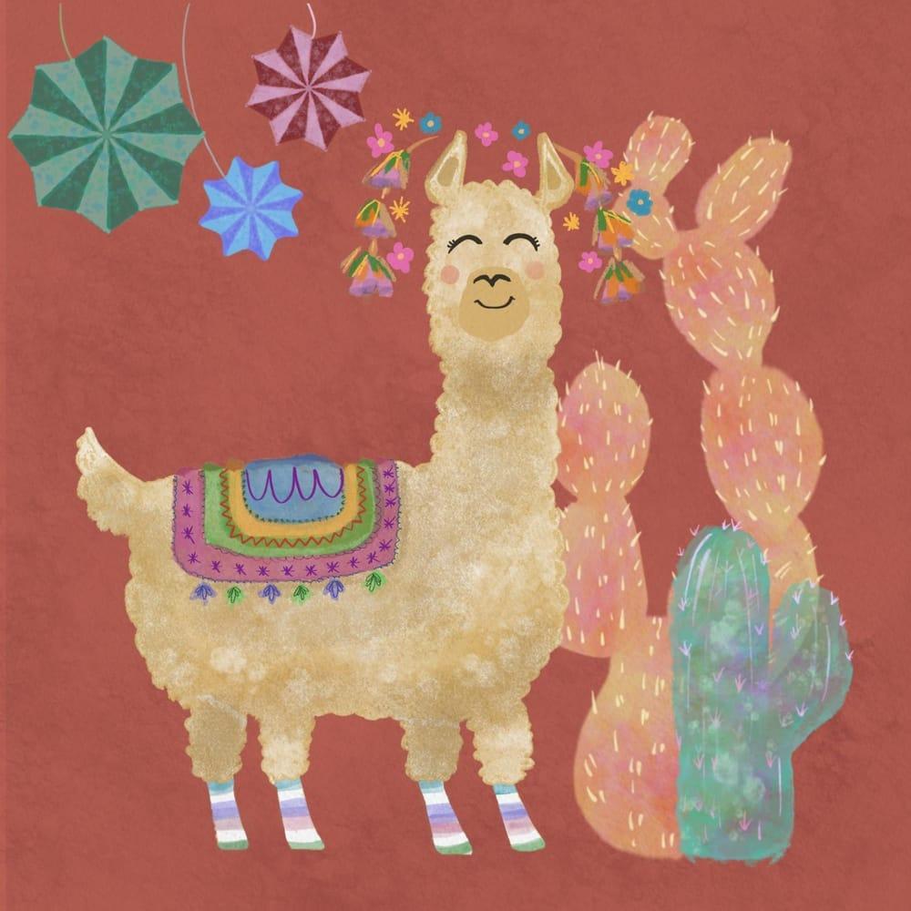 Llama - image 1 - student project