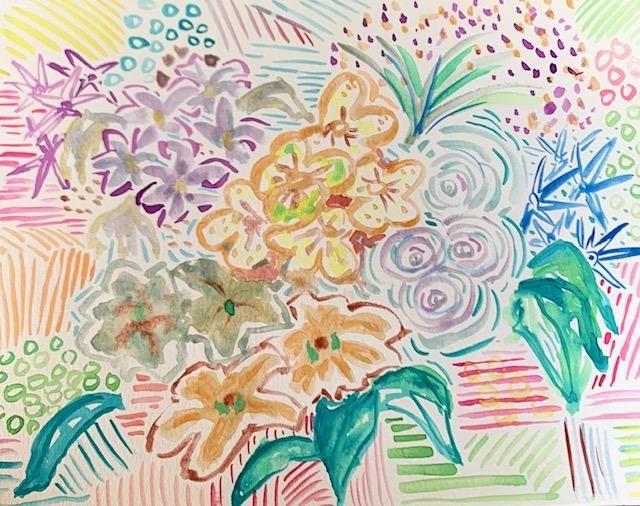 Intuitive Watercolor Painting - image 3 - student project
