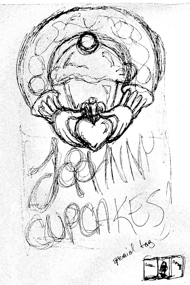 Irish Cupcakes - image 1 - student project