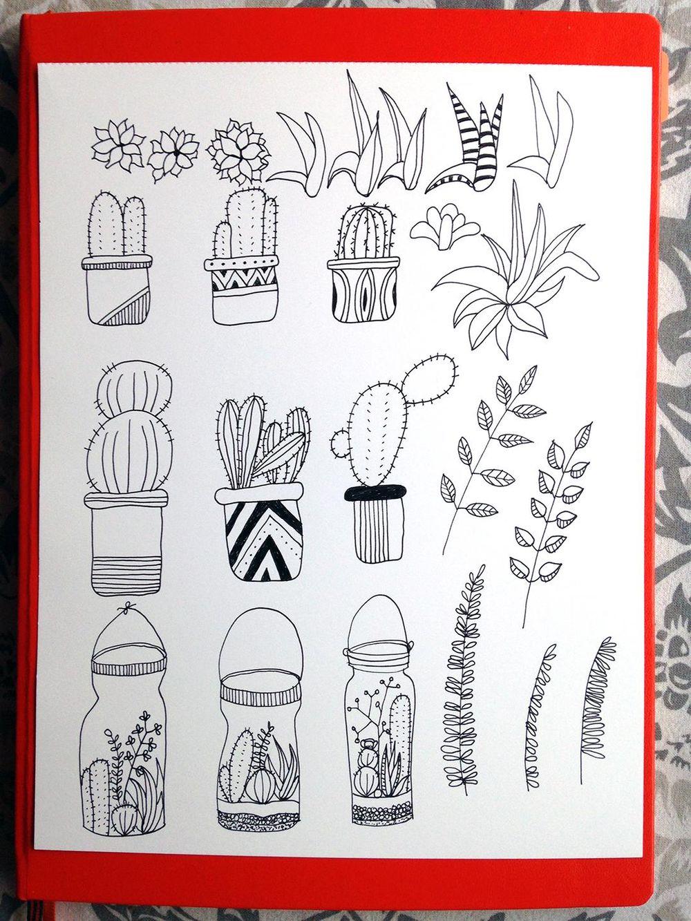 Bullet Journal Botanicals - image 6 - student project