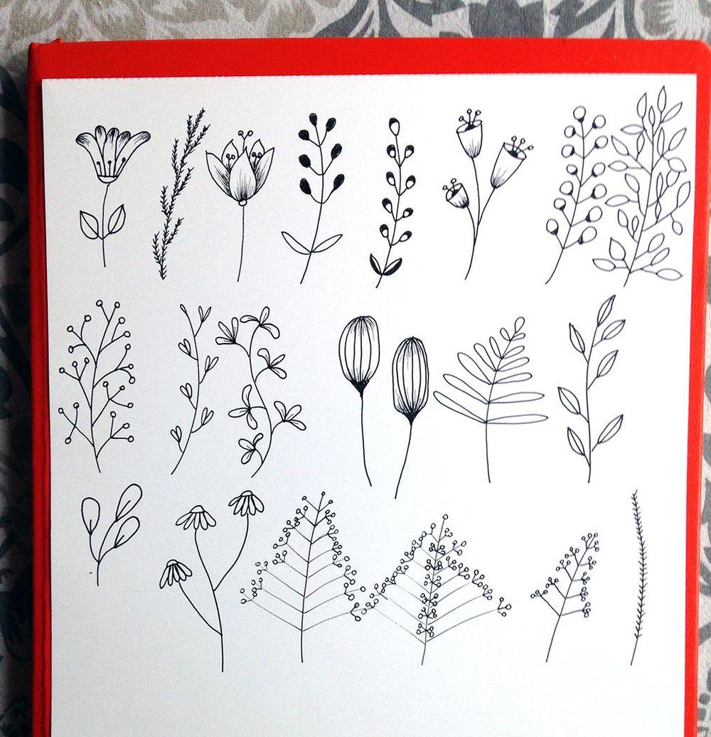 Bullet Journal Botanicals - image 7 - student project
