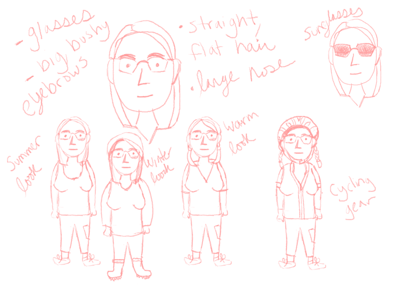 Designing Me for a Web Comic - image 1 - student project