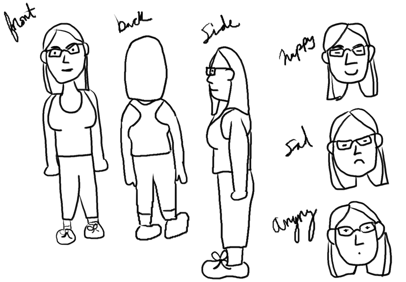 Designing Me for a Web Comic - image 2 - student project