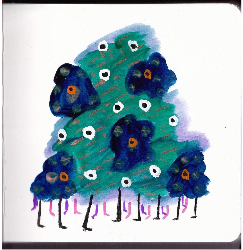 Gouache Creatures - image 3 - student project