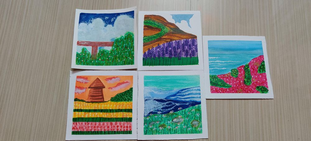 gouache kick start 5 projects - image 1 - student project