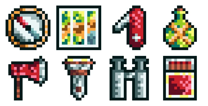 Camping Item Set - image 2 - student project