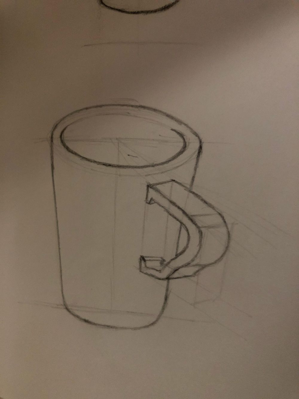 Perpective sketches - image 2 - student project