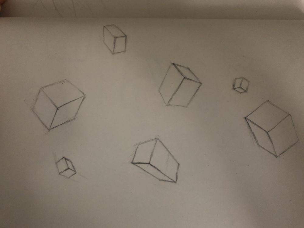 Perpective sketches - image 7 - student project