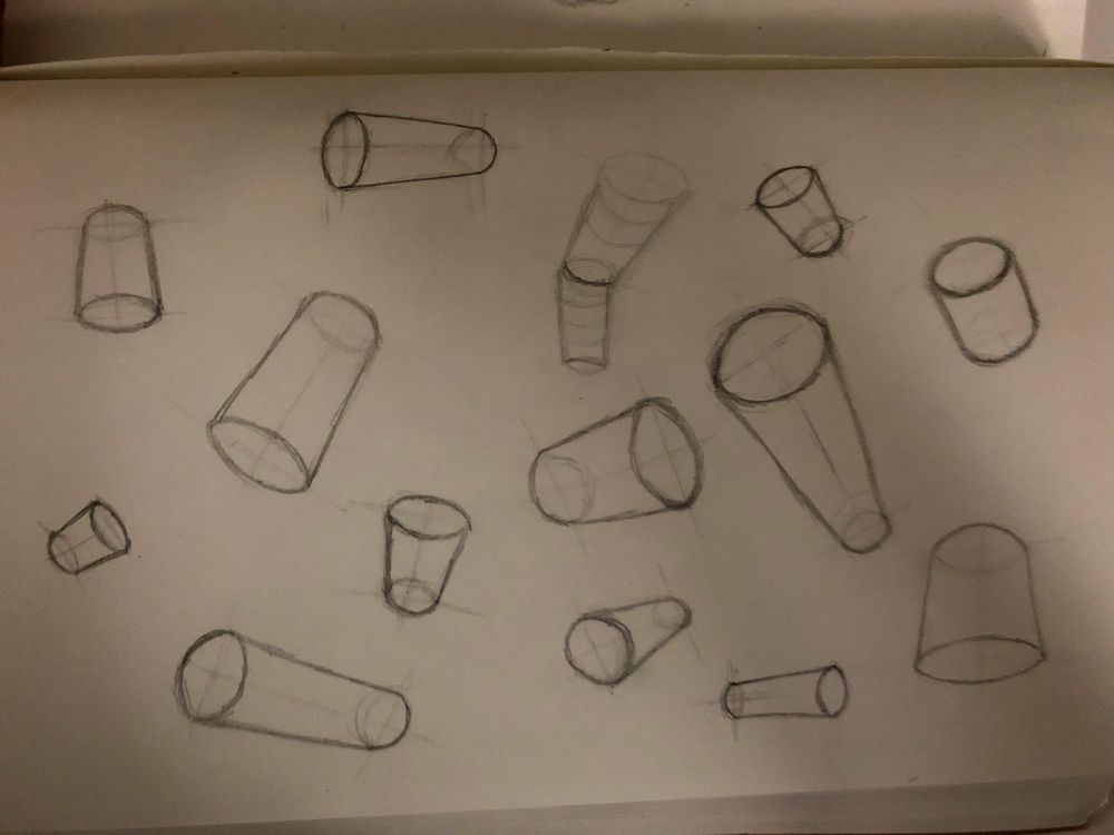 Perpective sketches - image 6 - student project