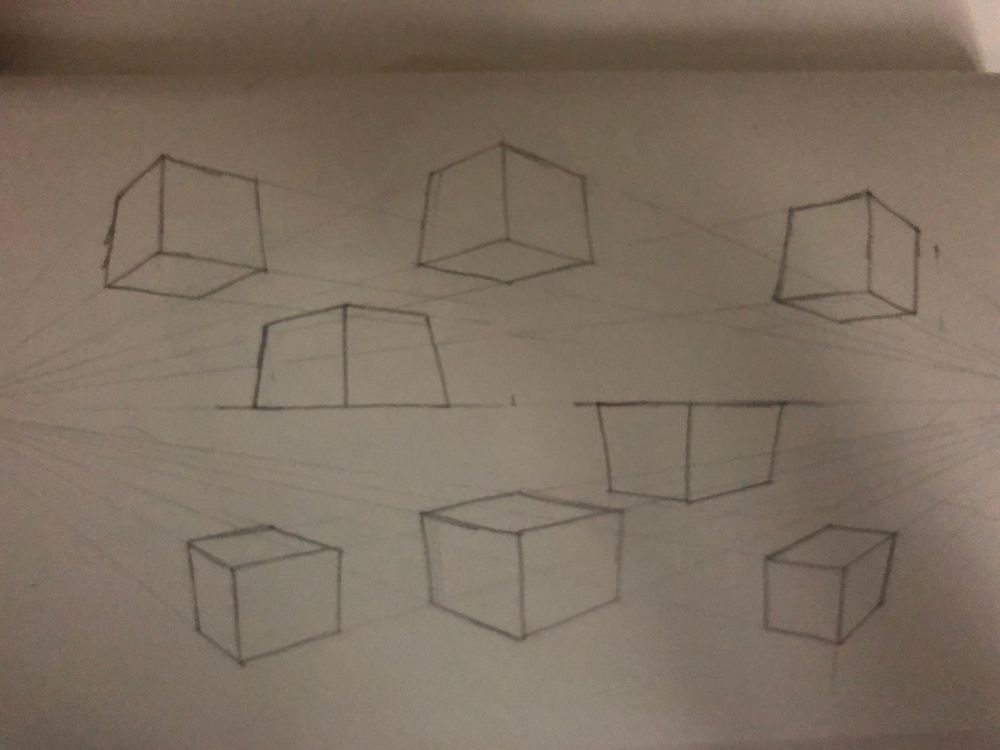 Perpective sketches - image 8 - student project
