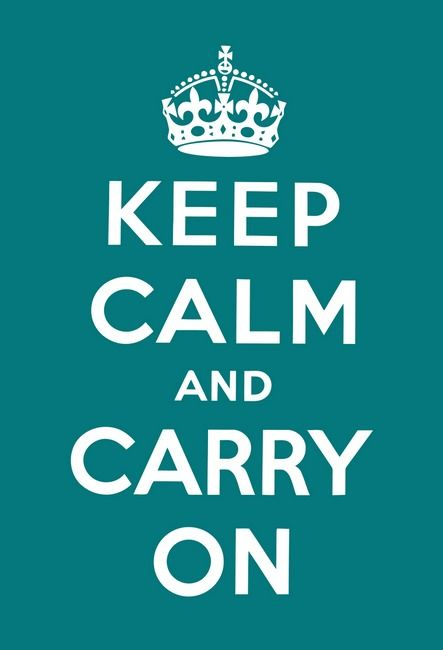 Keep Calm & Carry On - image 1 - student project